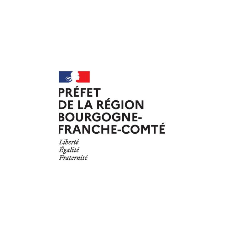 prefecture bourgogne franche compte logo
